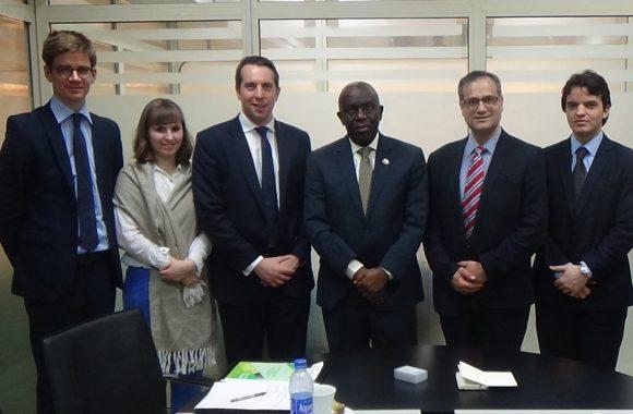 UK Department of International Trade Courtesy Visit to LCCI in Lagos